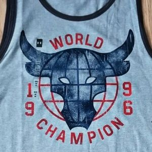 bcc03f27e525cb Under Armour Shirts - Under Armour x Project Rock 96 World Champion Tank